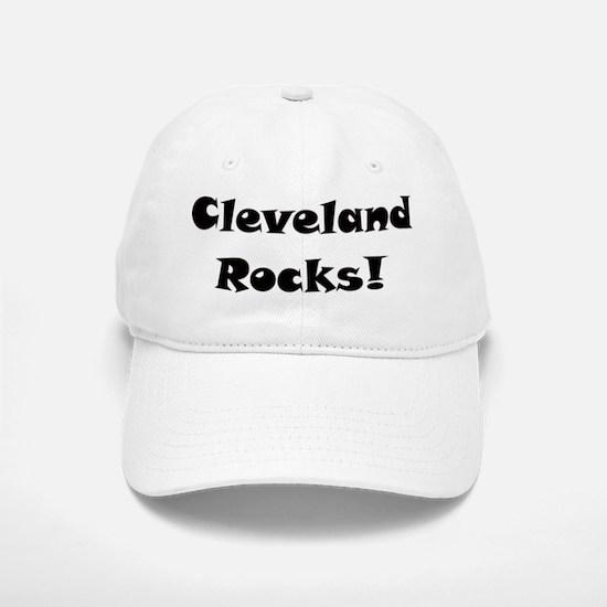 Cleveland Rocks Baseball Baseball Cap