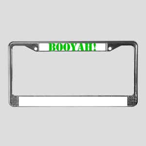 BOOYAH! License Plate Frame