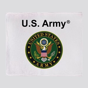U.S. Army Throw Blanket