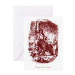 The Ghost of Christmas Presen Greeting Card