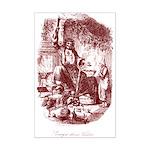 The Ghost of Christmas Presen Mini Poster Print