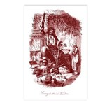 The Ghost of Christmas Presen Postcards (Package o