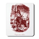 The Ghost of Christmas Presen Mousepad
