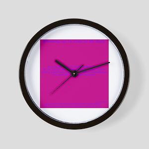 Write-in Buday Wall Clock