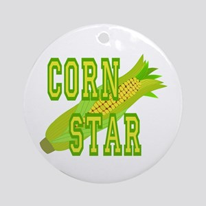 Corn Dog Ornament (Round)