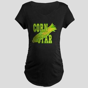 Corn Dog Maternity Dark T-Shirt