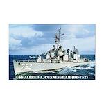 USS ALFRED A. CUNNINGHAM Mini Poster Print