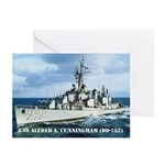 USS ALFRED A. CUNNINGHAM Greeting Cards (Pk of 10)