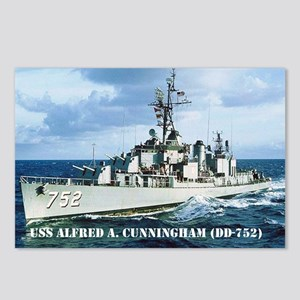 USS ALFRED A. CUNNINGHAM Postcards (Package of 8)