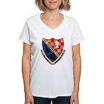 USS ALFRED A. CUNNINGHAM Women's V-Neck T-Shirt