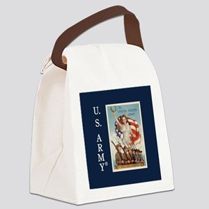 Then Now Forever Canvas Lunch Bag