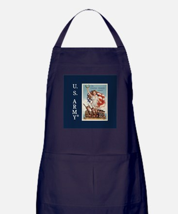 Then Now Forever Apron (dark)