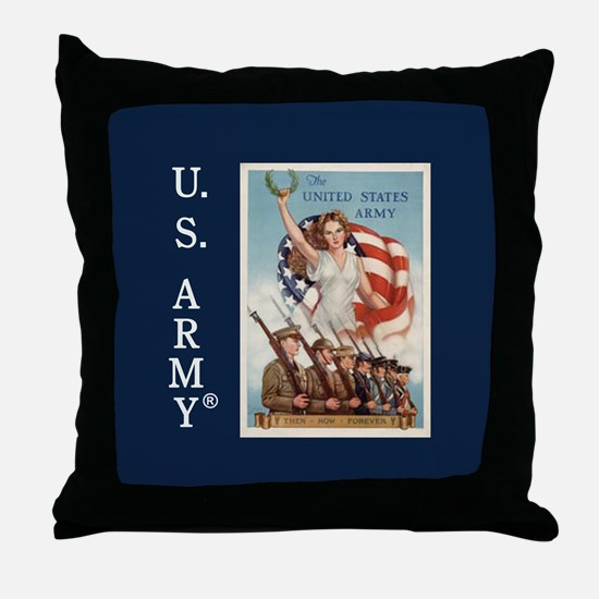 Then Now Forever Throw Pillow