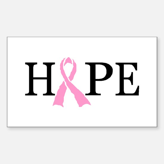 CURE CANCER Rectangle Bumper Stickers