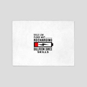 Please wait recharging Ballroom dan 5'x7'Area Rug