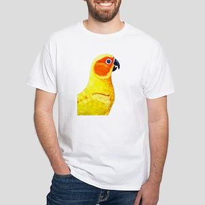 Sun Conure White T-Shirt