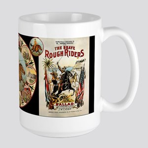 Rough Riders - Large Mug