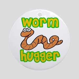 Worm Hugger Ornament (Round)