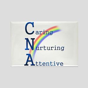 CNA Rainbow Rectangle Magnet