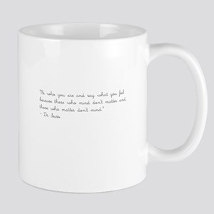 Dr. Seuss Quote Mugs