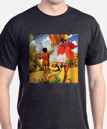 Jack Frost Painting Leaves T-Shirt