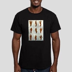 Jive Dance Men's Fitted T-Shirt (dark)