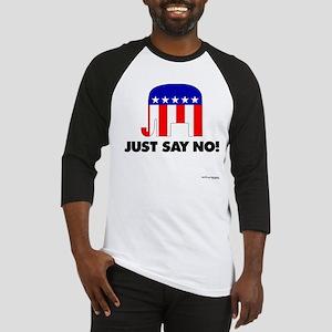 Just Say No - Baseball Jersey