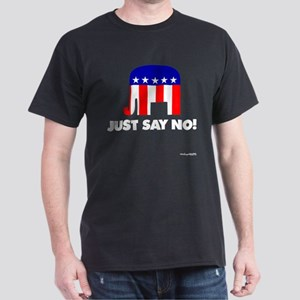 Just Say No - Dark T-Shirt