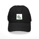 Green Sailboat Black Cap