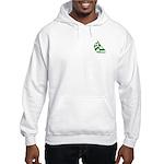 Green Sailboat Hooded Sweatshirt