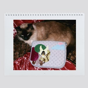 Maile's Louis Vuitton Cat Wall Calendar