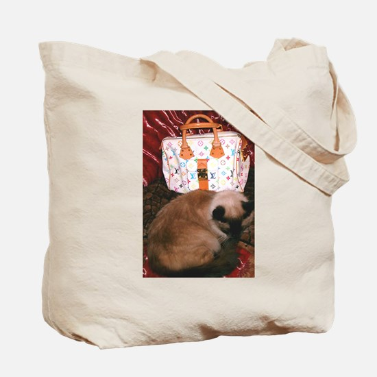 Maile's Louis Vuitton Cat Tote Bag
