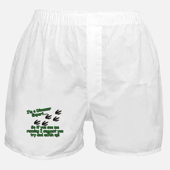 Dinosaur Expert Boxer Shorts