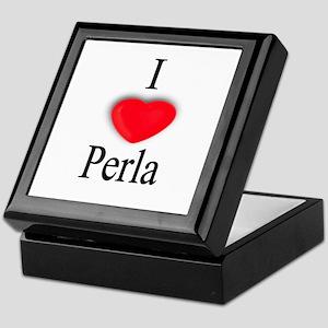 Perla Keepsake Box