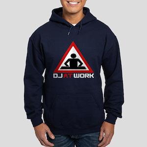 DJ at Work Hoodie (dark)
