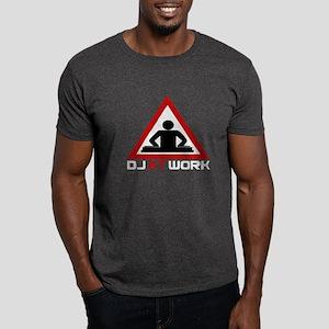 DJ at Work Dark T-Shirt