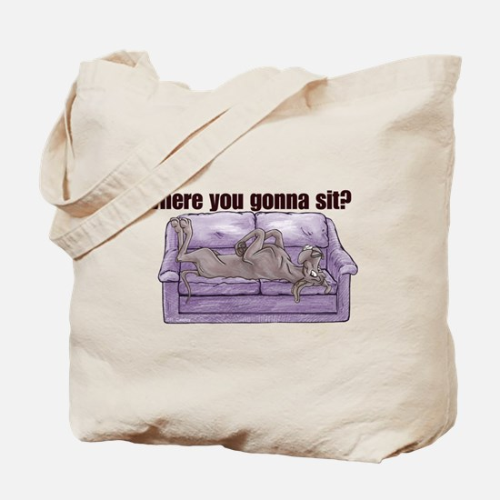 NBlu Where RU Tote Bag