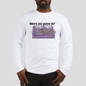 NBlu Where RU Long Sleeve T-Shirt