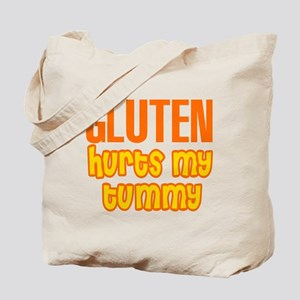 Gluten Hurts My Tummy Tote Bag