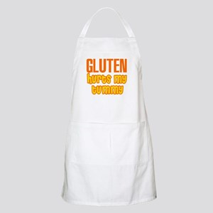 Gluten Hurts My Tummy Apron