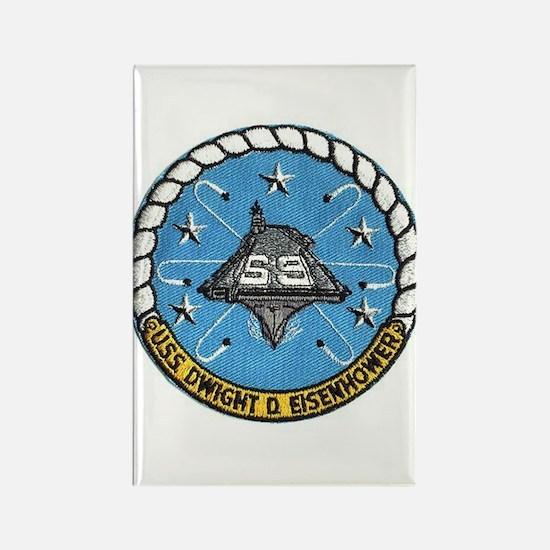 USS Eisenhower CVN 69 Rectangle Magnet