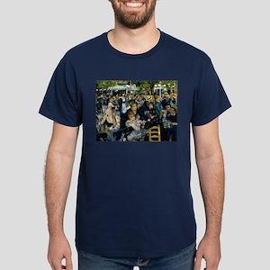 Renoir Moulin de la Galette Dark T-Shirt