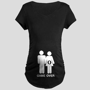 Game Over Maternity Dark T-Shirt