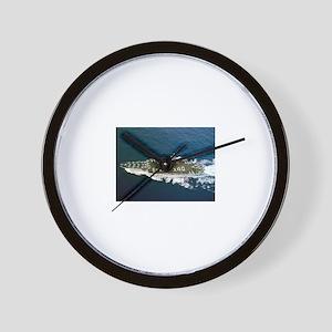 USS Enterprise Ship's Image Wall Clock