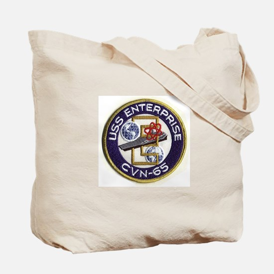 USS Enterprise Ship's Image Tote Bag