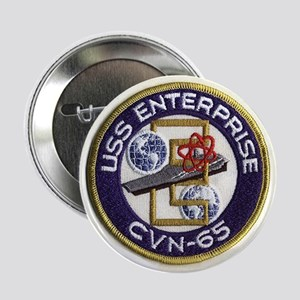 USS Enterprise CVN 65 Button