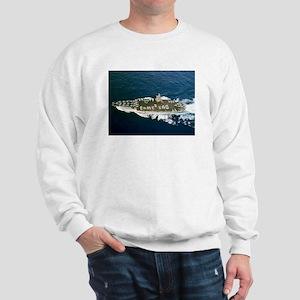 USS Enterprise Ship's Image Sweatshirt