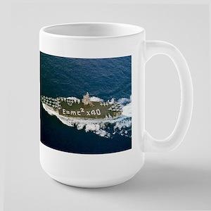 USS Enterprise Ship's Image Large Mug