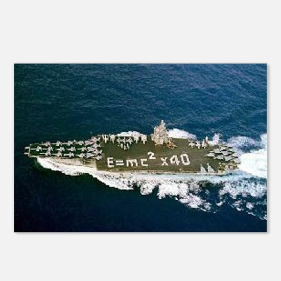 USS Enterprise Ship's Image Postcards (Package of