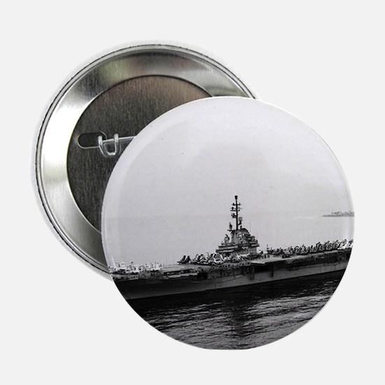 "USS Essex Ship's Image 2.25"" Button"